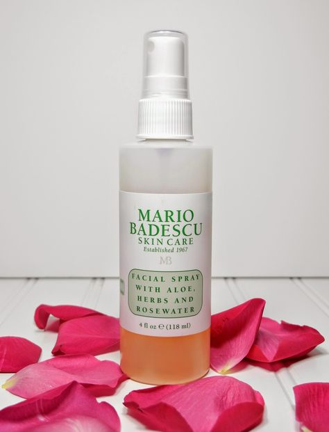 Mario Badescu Facial Spray Review Primp Coming Up Roses