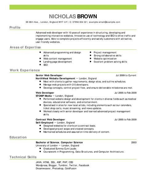 Pin by Elizabeth Vickers on resumes | Pinterest | Online resume ...