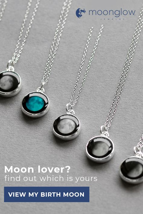 Choose a day you want to remember and we will print the moon in the perfect fashionable necklace bracelet ring and more. Choose a day you want to remember and we will print the moon in the perfect fashionable necklace bracelet ring and more. Art Deco Jewelry, Resin Jewelry, Cute Jewelry, Jewelry Crafts, Silver Jewelry, Handmade Jewelry, Unique Jewelry, Jewelry Findings, Hanging Jewelry