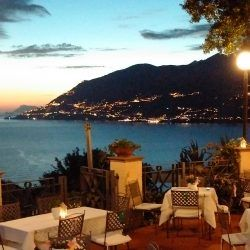 Café Il Faro Di Capo D Orso Amalfi Coast Patio Umbrella Outdoor