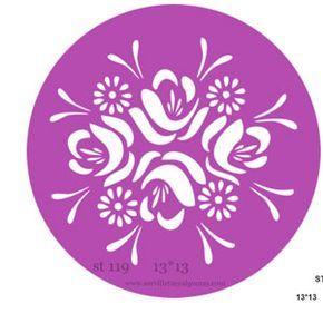 Servilletas A Algo Mas Stencil Estarcido Plantillas Para Estarcido Stencil Decorativo