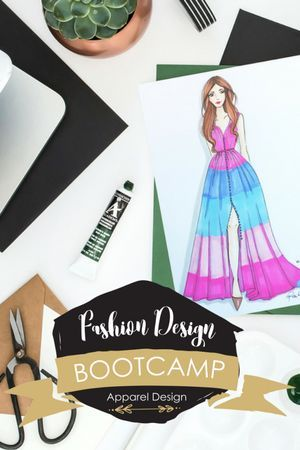Join Fashion Design Bootcamp Apparel Design Learn The Skills You Need To Stand Out From The Crowd And Become A S Design Bootcamp Apparel Design Join Fashion