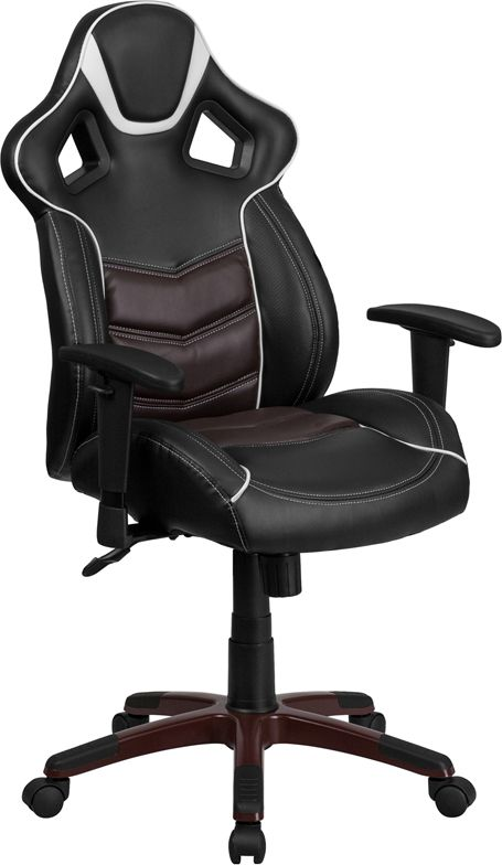 Swivel Office Chair, Round Base Gaming Chair