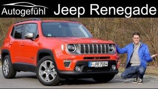 Jeep Renegade Facelift Full Review 2020 Autogefuhl Jeep