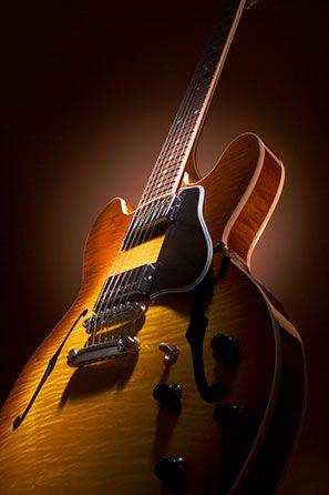 Gibson Es 335 Td Tea Sunburst Embossed Pickup Covers