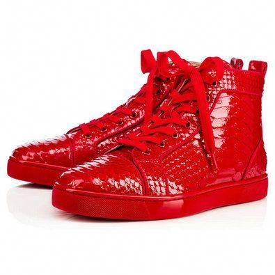 competitive price a3dbc c8d9a Louis Orlato Mens Flat - Red Bottom Christian Louboutin ...