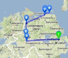 Irlande Reportage Carnet Voyage Irlande Du Nord De Derry A La