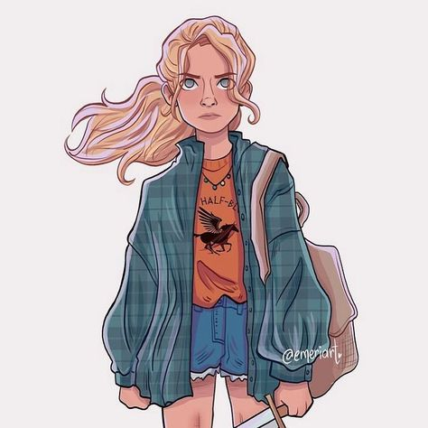 Annabeth Chase, Percy Jackson Fan Art, Wise Girl, Half Blood, Instagram, Books, Libros, Book, Book Illustrations