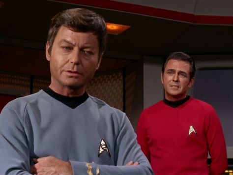 Gem (Kathryn Hays) \ Dr McCoy (DeForest Kelley) - Star Trek The - dr bashir i presume
