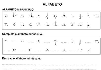 Professora Gege Alfabeto Atividade Com Imagens Alfabeto