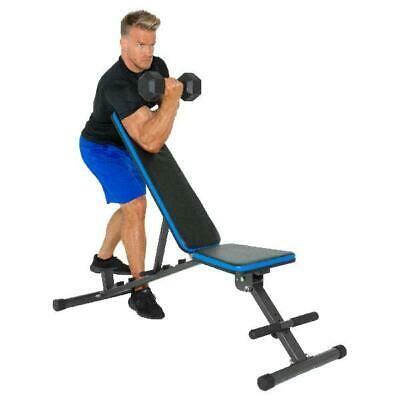 Adjustable Gym Bench Press Incline Decline Standard Chest Workout Cohen Bicep In 2020 Weight Benches Adjustable Weight Bench Adjustable Workout Bench