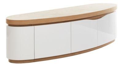 meuble tv 153 cm avec led intgres mike