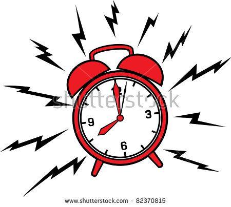 Classic Alarm Clock Stock Old Alarm Clock Cartoon Alarm Clock