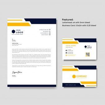 Professional Creative Letterhead And Business Card Template Business Cards Creative Letterhead Business Letterhead