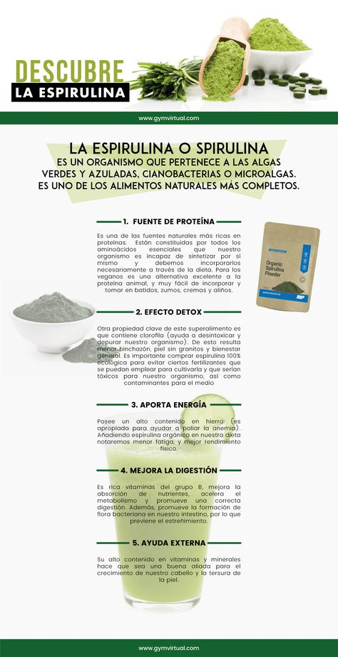 22 Ideas De Health Espirulina En 2021 Espirulina Alga Espirulina Beneficios De Alimentos