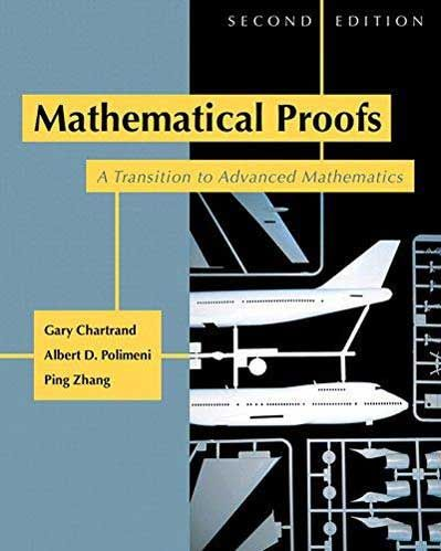 Solution Manual Mathematical Proofs 2nd Edition Chartrand