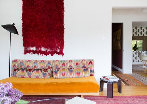 Sitting Pretty - Work + Sea's Colorful Los Angeles Home  - Photos