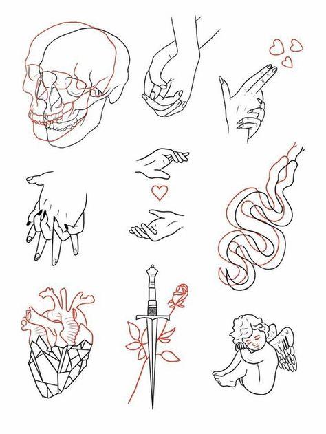 making money by making mini tattoo designs - money ideas