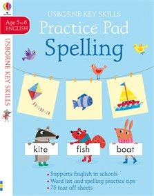 Spelling Practice Pad 5 6 New For July 2018 Spelling Practice Practice Pads Spelling Word Practice
