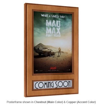 soundright marquee poster frame soundright movie poster frames home theater decor poster frames pinterest movie poster frames - Movie Poster Frame