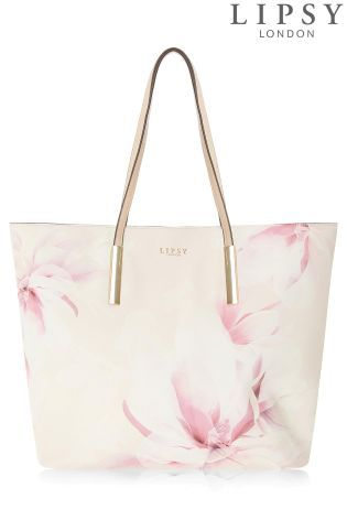 19befca87a0619 Buy Lipsy Floral Printed Shopper Bag from the Next UK online shop ...