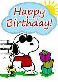 Happy Birthday Happy Birthday Snoopy Geburtstag Snoppy Und