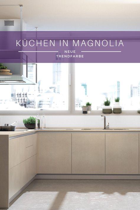 Küchenfarben 2017: Das sind die Farbtrends für die Küchenplanung ...