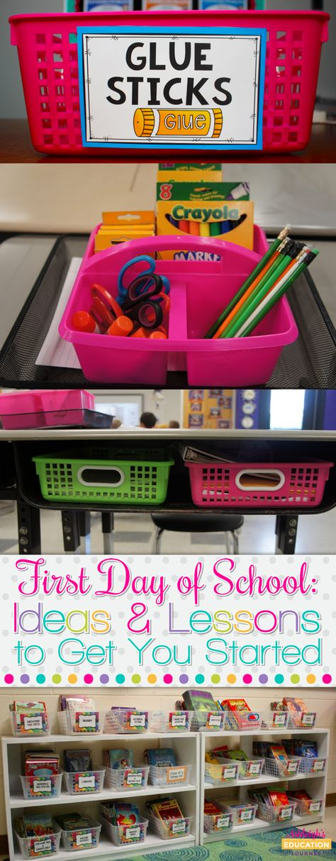 First Day of School: Ideas and Lessons to Get You Started - Ashleigh's Education Journey