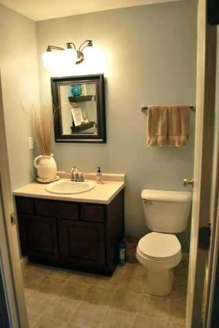 Half Bathroom Ideas In Small Space The Very Best Part Is It Let You Maintain The Bathroom Mini With Images Small Half Bathrooms Half Bathroom Decor Small Space Bathroom