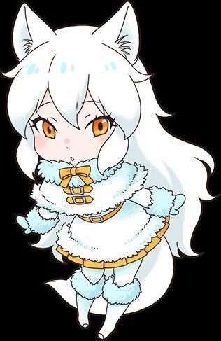 Arctic Fox Cute anime character Fox character Anime characters