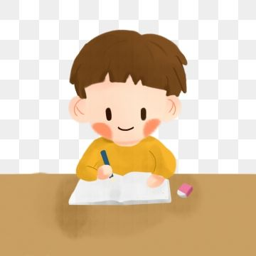 Holiday Homework Write Homework Operation Little Boy Writing Clipart Learn Student Png Transparent Clipart Image And Psd File For Free Download Holiday Homework Cartoon Art Styles Graphic Design Background Templates