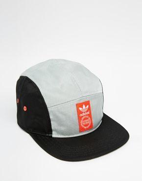 adidas 5 panel snapback cap