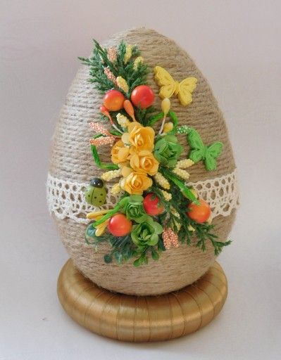 Piekne Jajko Pisanka Ozdoby Wielkanocne Rekodzielo 7165947305 Oficjalne Archiwum Allegro Easter Egg Decorating Easter Crafts Egg Crafts
