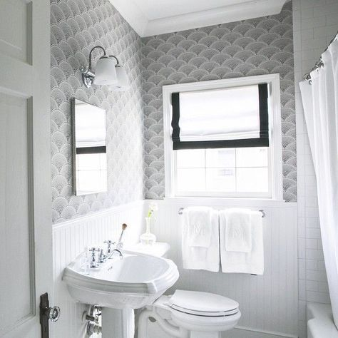 Small Bathroom Inspiration Wallpaper