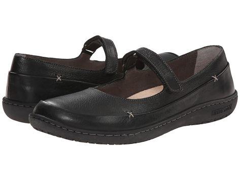 e5e9214cabce Birkenstock Iona Women s Maryjane Shoes Black Leather