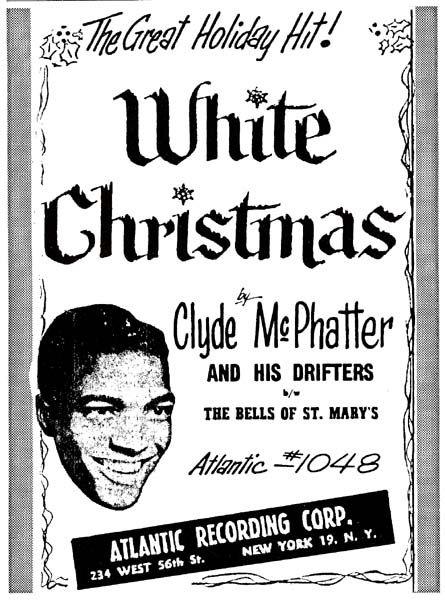"""Résultat de recherche d'images pour """"clyde mcphatter white christmas"""""""