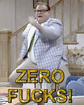 dancing excited college matt foley van down by the river zero fucks given #gif from #giphy
