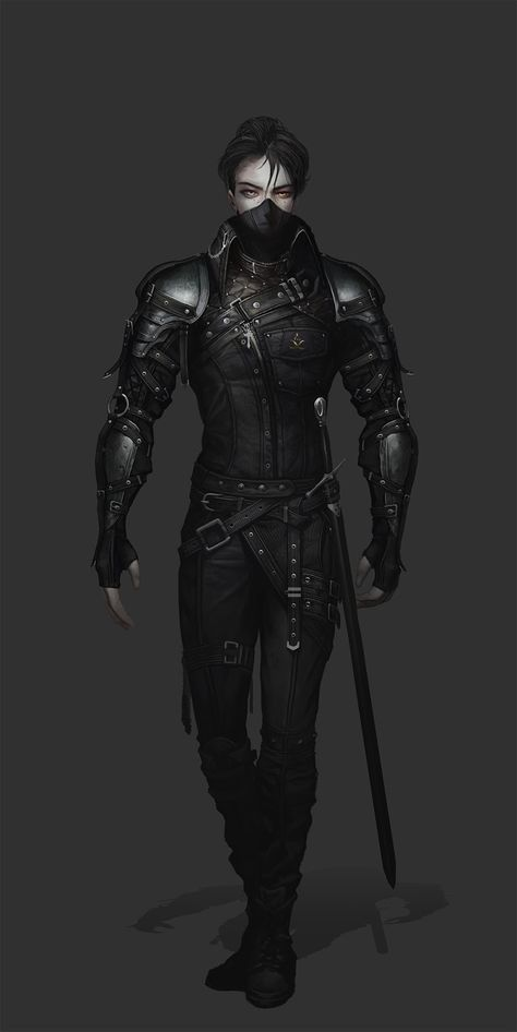 Kai Fine Art is an art website, shows painting and illustration works all over the world. Fantasy Character Design, Character Design Inspiration, Character Concept, Character Art, Fantasy Male, Fantasy Armor, Dark Fantasy Art, Fantasy Fighter, Dungeons And Dragons Characters