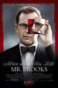Mr Brooks Movie Posters Kevin Costner Streaming Movies