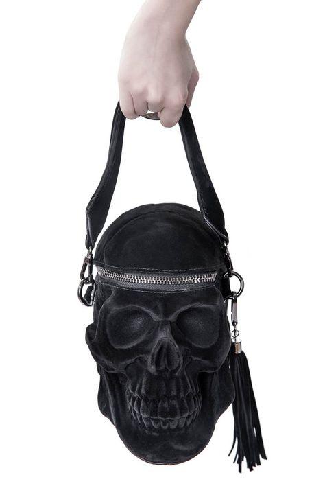 Grave Digger Skull Handbag [B]