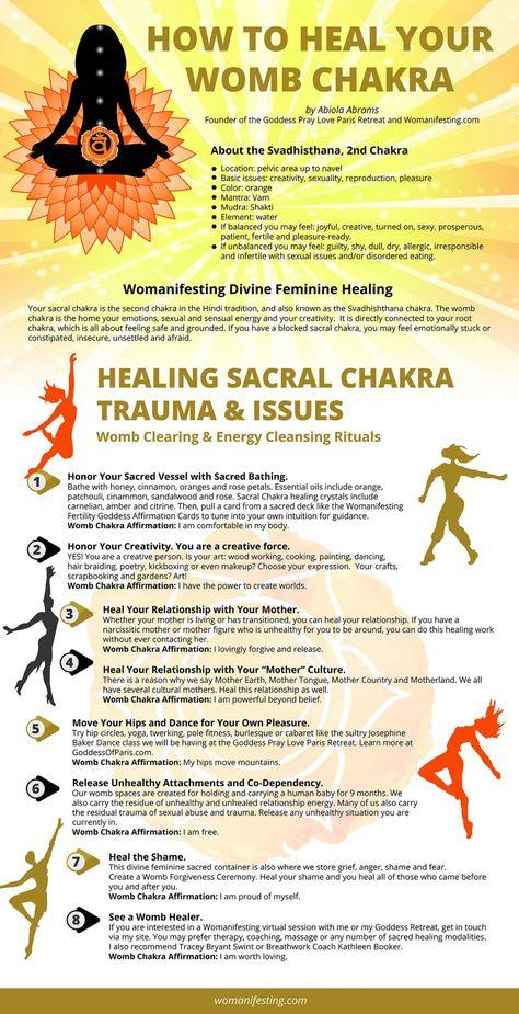 How to Heal Your Sacral Chakra Trauma: Divine Feminine Womb Chakra [Video]