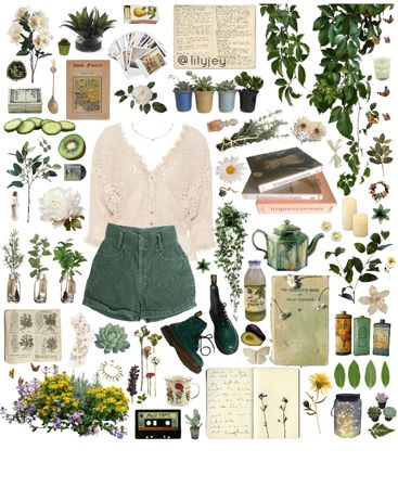 Discover outfit ideas for made with the shoplook outfit maker. How to wear ideas for Devon embroidered top and 'Polaroid Love' Hippie Outfits, Retro Outfits, Vintage Outfits, Cool Outfits, Summer Outfits, Fall Fashion Outfits, Aesthetic Fashion, Aesthetic Clothes, Earthy Outfits