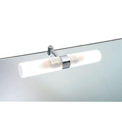 Applique Pour Miroir Salle De Bains Aric Tora Chrome Satine Ip44 Avec Images Miroir Salle De Bain Salle De Bain Miroir