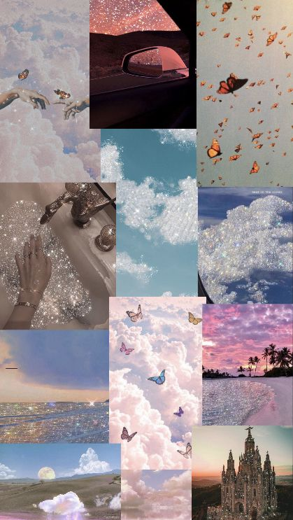 Aesthetic Collage In 2021 Collage Landscape Aesthetic Collage Aesthetic Wallpapers