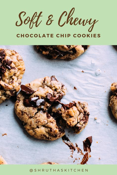 Here's an easy and foolproof recipe for Chewy and Moist Choco Chip Cookies. #cookies #chewycookie #chocolate #easycookie #choco-chipcookies#chocochipcookie#chocochipscookiesrecipe#chocochipoatmealcookies#chocochip#chocochipcookiedough#chocochips#chocochipcookierecipe#doublechocochipcookies#chococokies#homemadechocochipcookies#chocochipcookiesrecipeeasy#Ultimatebaking#chewy#Homemade#bestever#darkchocolate#best#howto#bakerystylecookies#subwaychocochipcookie#chocolatechipcookies#gooey#soft