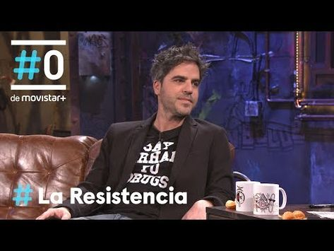 "LA RESISTENCIA - Ernesto Sevilla dice ""Say perhaps to drugs""   #LaResistencia 10.05.2018 - YouTube"