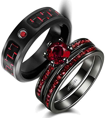 Enjoy Exclusive For Wedding Ring Set Two Rings His Hers Couples