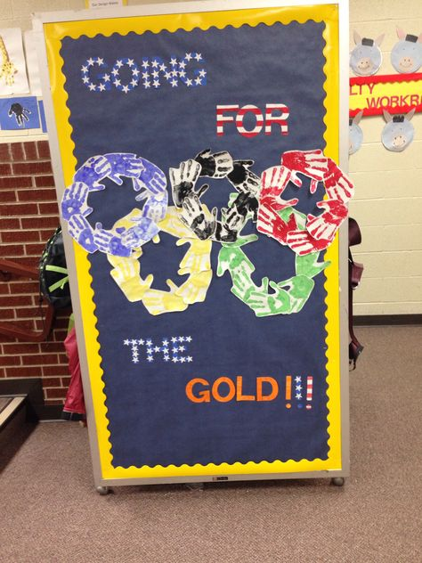 Classroom Decorating Ideas Olympic Theme ~ Olympic themed classroom bulletin boards just b use
