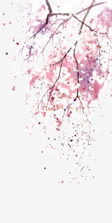 الصور الخلفيات Flower Illustration Watercolor Flowers Watercolor Background