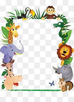 Animal Pictures Picture Frame Crafts Picture Frames Jungle Theme Birthday